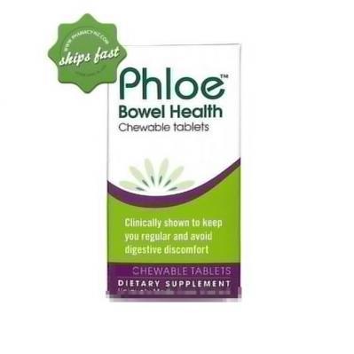 PHLOE BOWEL HEALTH CHEWABLE TABLETS 30
