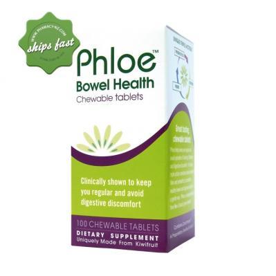 Phloe Bowel Health 120 Chewable Tablets