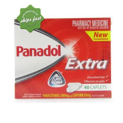 PANADOL EXTRA OPTI ZORB 40 CAPLETS