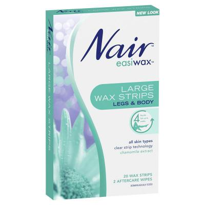 Nair Easiwax Large Wax Trips Value Pack