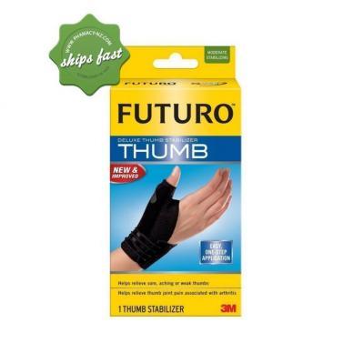FUTURO DELUXE THUMB STABILIZER BLACK L XL
