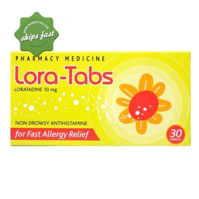 Lora Tabs 10mg 30 Tablets
