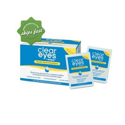 CLEAR EYES BY MURINE GENTLE CLEANSING WIPES 30 PACK