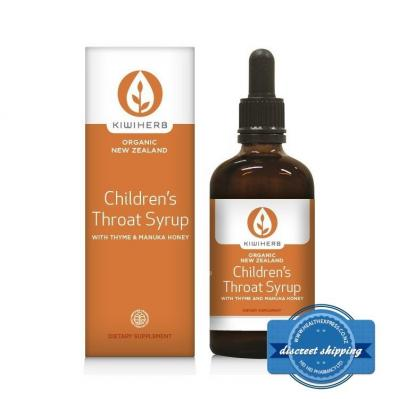 KIWIHERB CHILDRENS THROAT SYRUP 100ML