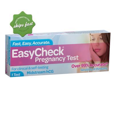 EASYCHECK PREGNANCY TEST 1 TEST