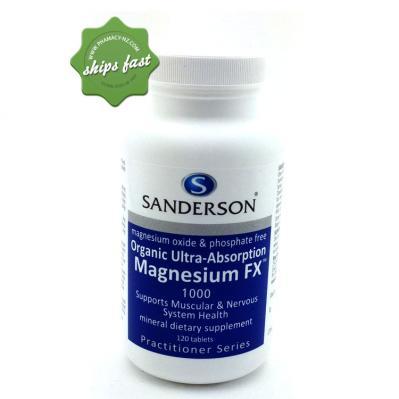 SANDERSON MAGNESIUM FX 1000 120 CAPSULES