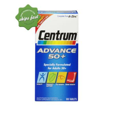 CENTRUM ADVANCE 50 PLUS 100 TABLETS