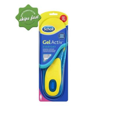 SCHOLL GEL ACTIV EVERYDAY INSOLES FOR WOMEN