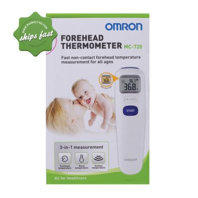 OMRON FOREHEAD THERMOMETER MC 720 SHIPS FAST- FREIGHT FREE -