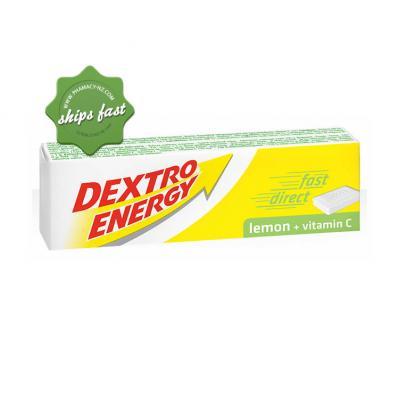 DEXTRO ENERGY LEMON PLUS VITAMIN C