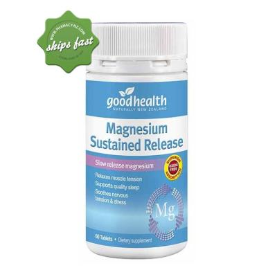 Good Health Magnesium Sustained Release 60 Tablets