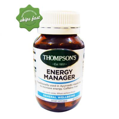THOMPSON S ENERGY MANAGER 60 CAPSULES