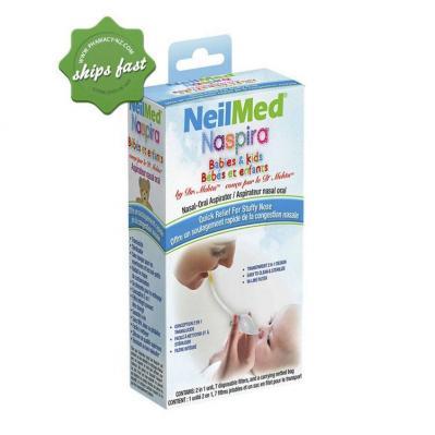 NEILMED NASPIRA BABIES AND KIDS NASAL ORAL ASPIRATOR