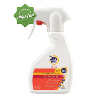 SUNSENSE INVISIBLE 50 PLUS 200ML (Special buy online only)