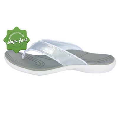 NEAT ZORI WHITE AND SILVER SIZE 8