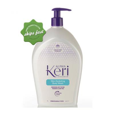 ALPHA KERI SKIN HYDRATING BODY WASH 1LT