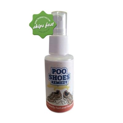 POO SHOES HYGIENE FOR SMELLY FEET AND FOOTWEAR 50ML