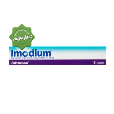 IMODIUM ADVANCE 6 CHEWABLE TABLETS