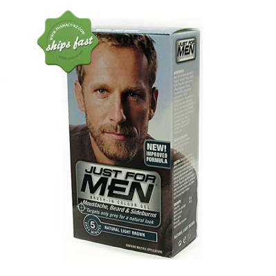 JUST FOR MEN BEARD NATURAL LIGHT BROWN