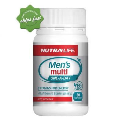 NUTRALIFE MENS MULTI ONE A DAY 30 CAPSULES