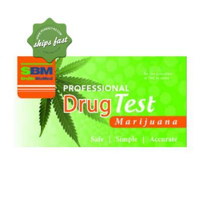 SBM PROFESSIONAL DRUG TEST MARIJUANA 5 TEST PACK