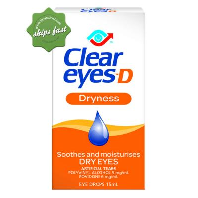 CLEAR EYES D DRYNESS 15ML