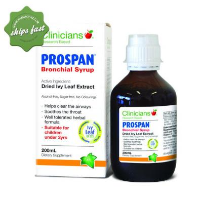 CLINICIANS PROSPAN MENTH 100ML