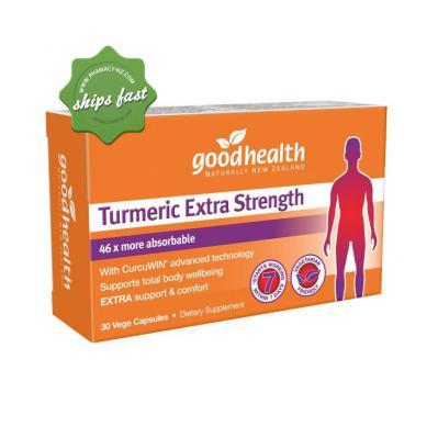 GOOD HEALTH TURMERIC EXTRA STRENGTH 30 C