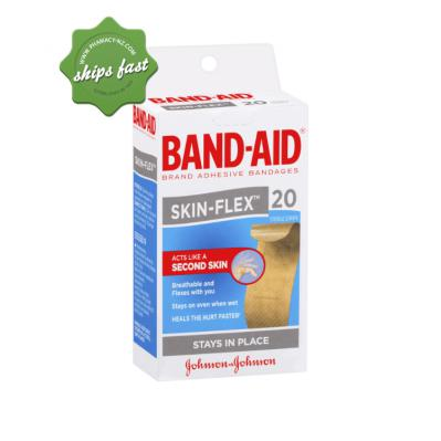 BAND AID SKINN FLEX STRIPS REGULAR 20