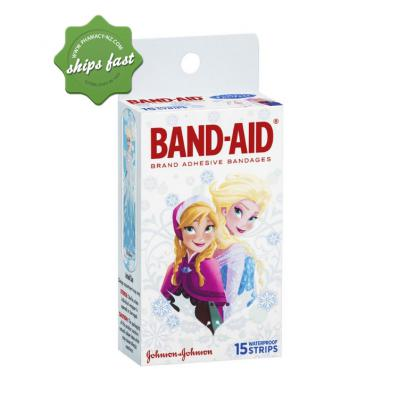BAND AID FROZEN 15 WATERPROOF STRIPS