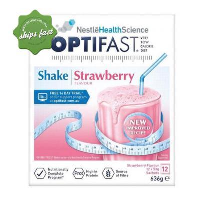 OPTIFAST SHAKE STRAWBERRY 12X53G