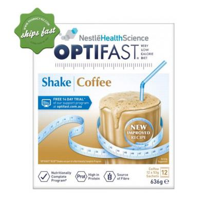 OPTIFAST SHAKE COFFEE 12 x 53g