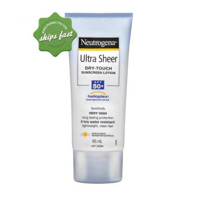 NEUTROGENA ULTRA SHEER DRY TOUCH SUNSCREEN LOTION SPF50 85ML