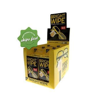 BRIGHTWIPE PRE MOISTENED LENS CLEANING TOWELETTES 30
