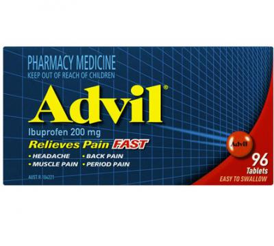 Advil 96 Tablets
