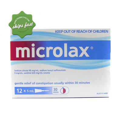 MICROLAX ENEMA 12 PACK