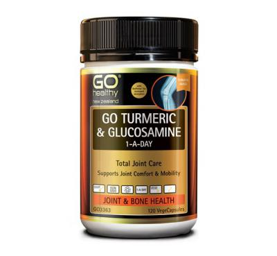 GO TURMERIC & GLUCOSAMINE 1-A-DAY 120s