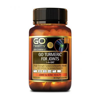 GO TURMERIC FOR JOINTS 1-A-DAY 30s