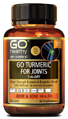 GO TURMERIC FOR JOINTS 1-A-DAY 60s