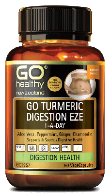 GO TURMERIC DIGESTION EZE 1-A-DAY 60s