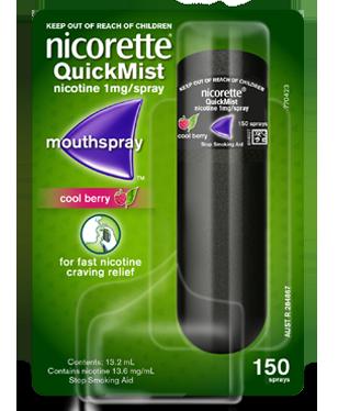 NICORETTE QUICK MIST SPRAY BERRY 13.2ML