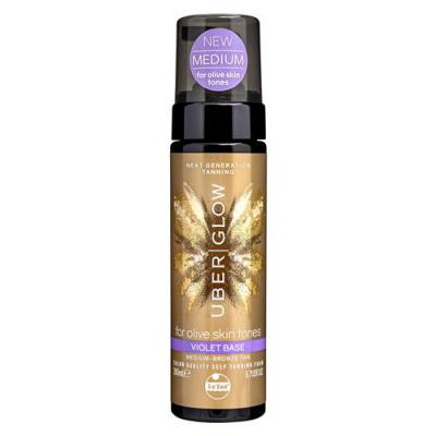 LE TAN UBER GLOW FOAM VIOLET BASE 200ML