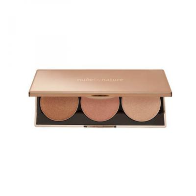 NUDE BY NATURE HIGHLIGHT PALETTE 3 X 3 5 ML