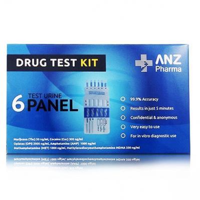 ANZP Urine Panel Drug Test Kit 6