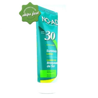 NO AD SUNBLOCK PROTECT SPF 30 250ML (Special buy online only)