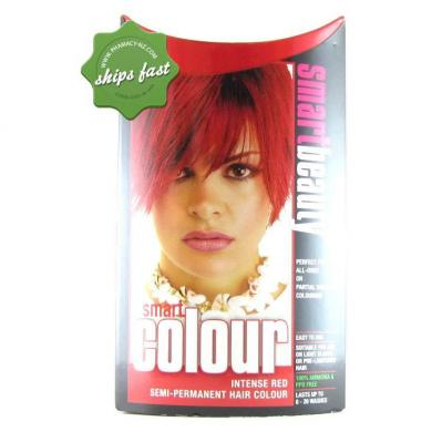 SMART COLOUR SEMI PERMANENT INTENSE RED HAIR COLOUR