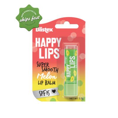 BLISTEX HAPPY LIPS MELON LIP BALM SPF15 3 7G