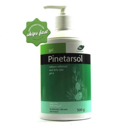 PINETARSOL GEL PUMP 500G