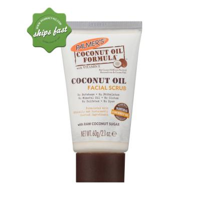 PALMERS COF COCONUT OIL FACIAL SCRUB 60G (Special buy online only)