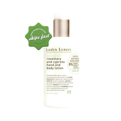 LINDEN LEAVES HERBALIS ROSMERY AND CYPRESS HAND AND BODY LOTION 300ML